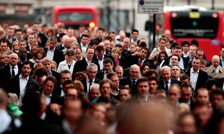 London's hustle and bustle