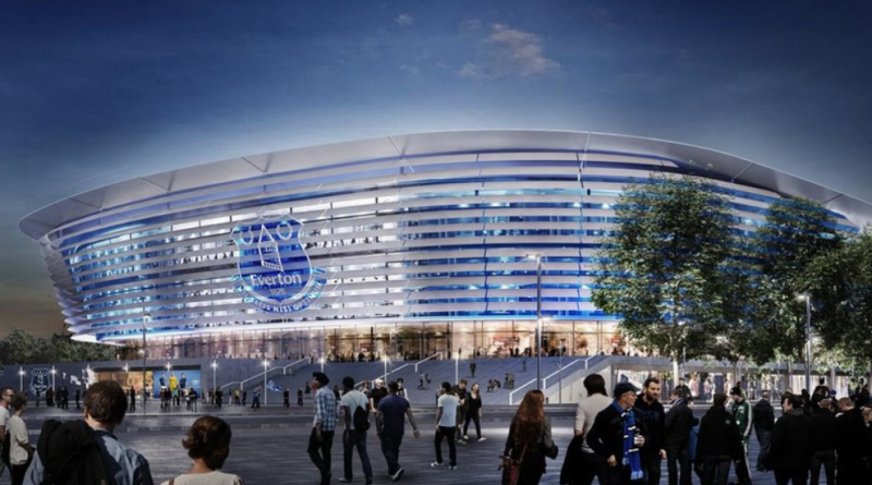 Everton's new stadium at Bramley-Moore Dock