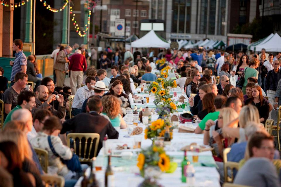 The Street-Feast is becoming a common occurrence in many London boroughs