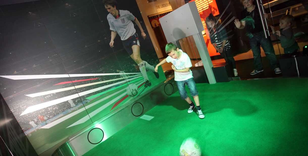 National Football Museum in Manchester