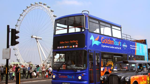 Hop ion/off London Bus Tours