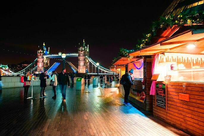 London Bridge Christmas market
