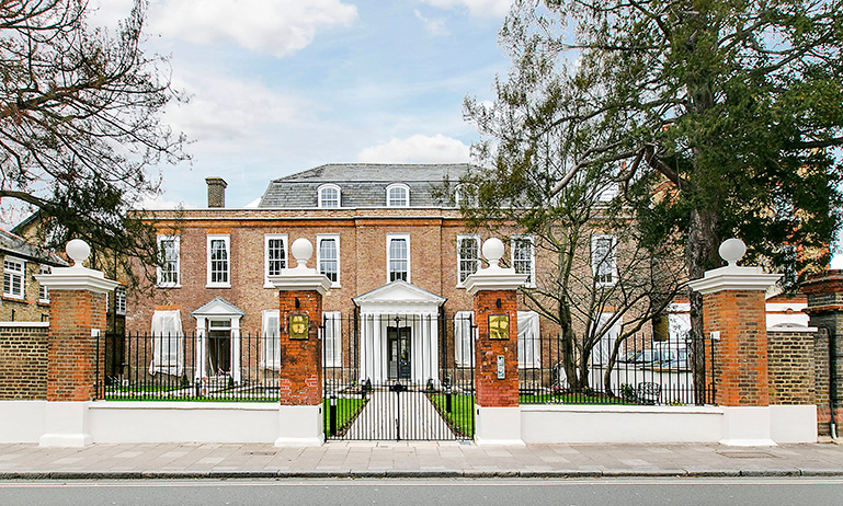 London luxury property