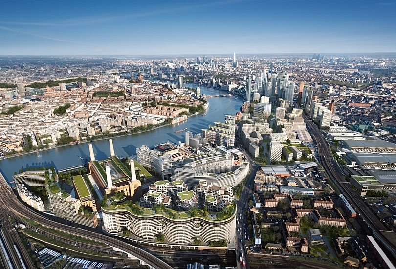Nine Elms property