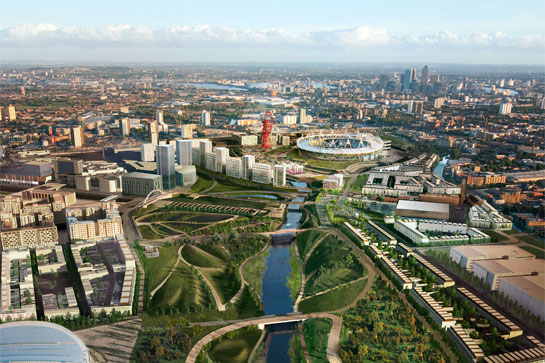 The Olympic park area is a classic example of London regeneration
