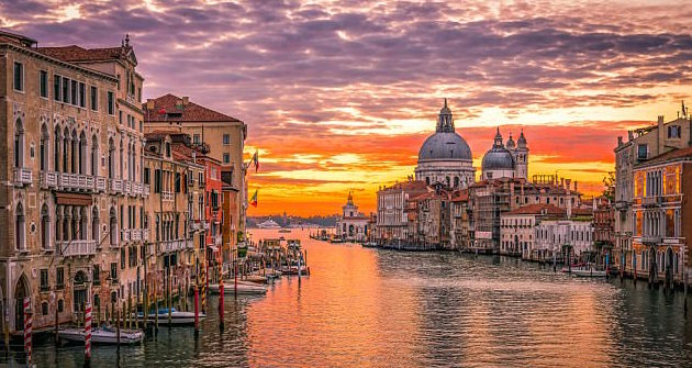 Venice is one of the many European destinations on your doorstep