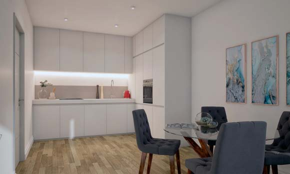 Luxury 1, 2 & 3 bedroom apartments in Sheffield