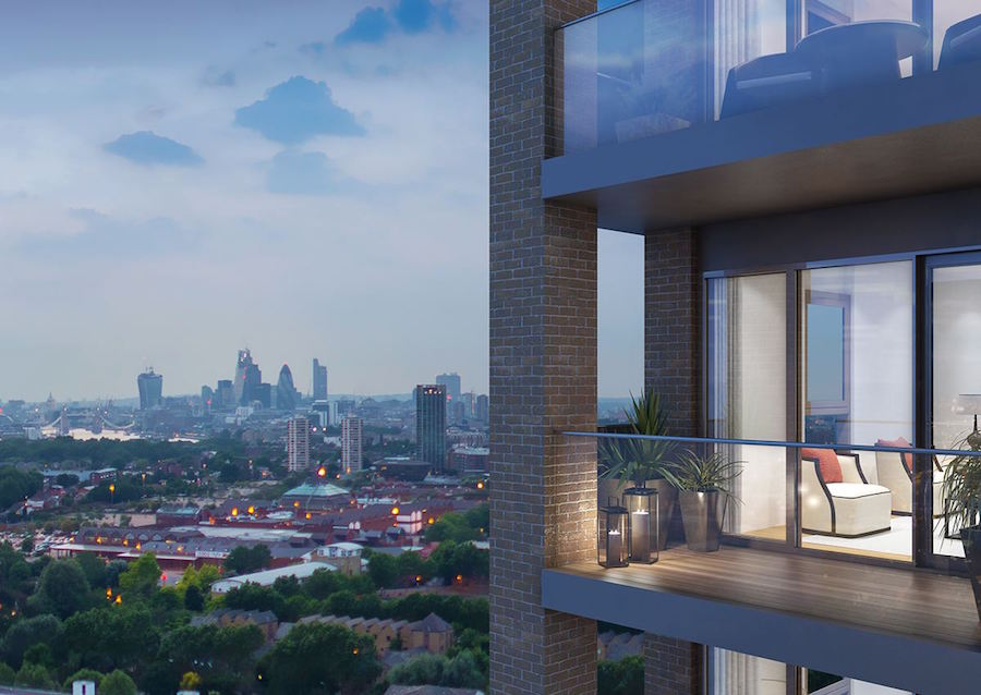 Stylish Deptford apartments with London skyline views