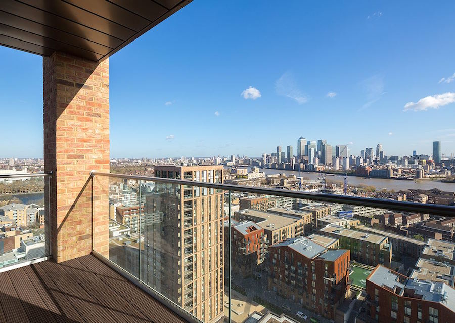 Stylish Deptford apartments with London skyline views ...