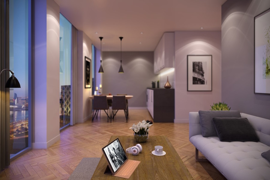 Luxury modern apartments for sale in Salford Manchester ...