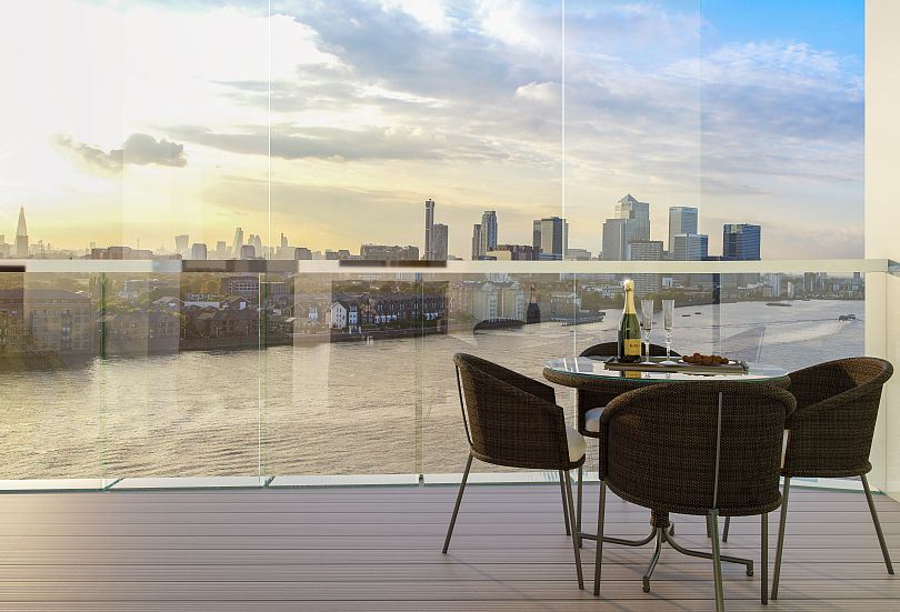 Beautiful Greenwich flats for sale overlooking River Thames