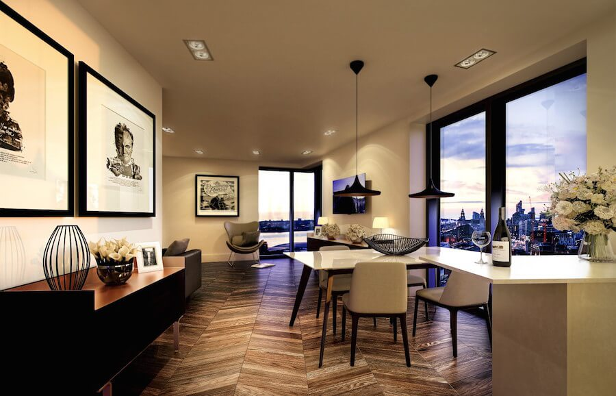 Central Liverpool apartment with historic dockyard views ...