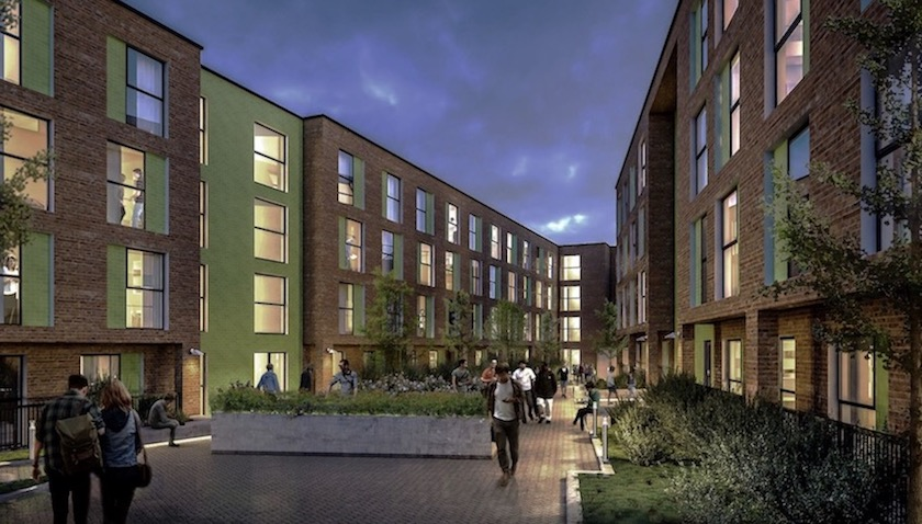Preston student accommodation for investment in UK