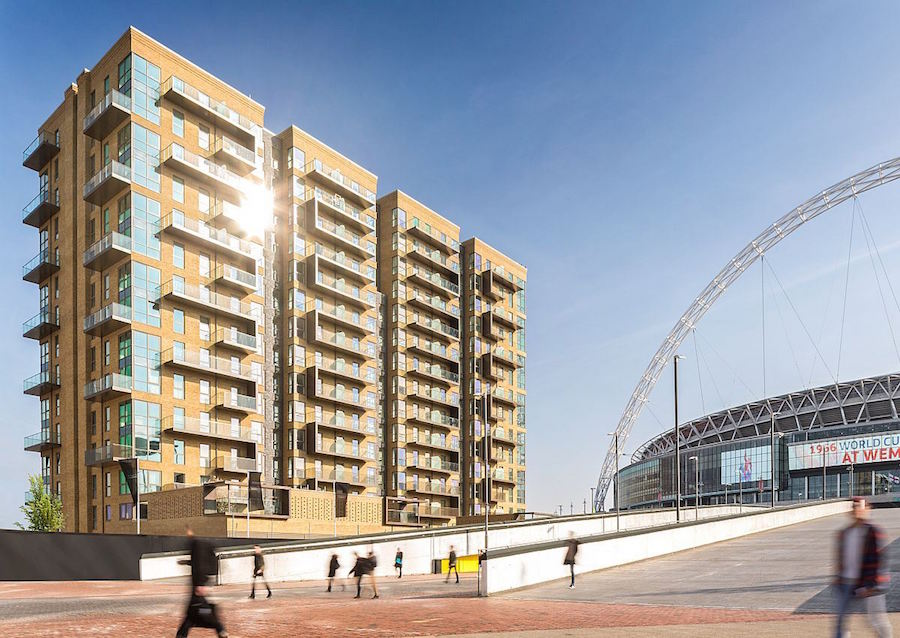 Modern Wembley apartments in prime regeneration area
